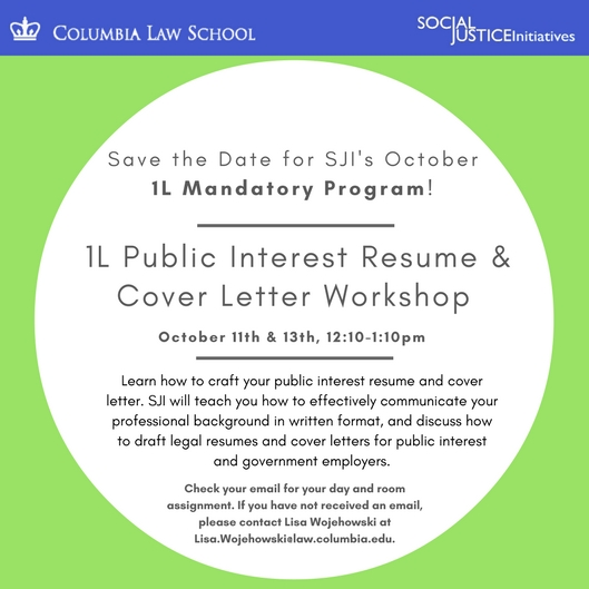 columbia cover letter law