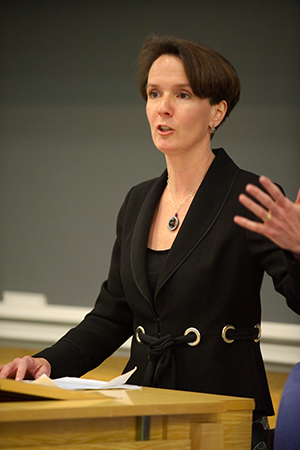 Sarah Cleveland teaching at Columbia Law School