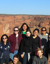 Students on the Indian Law Spring Break Pro Bono Caravan to Arizona