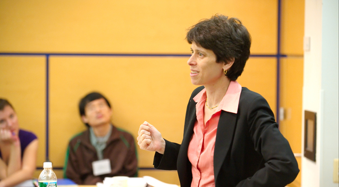 Prof. Suzanne Goldberg, founder of the Center for Gender and Sexuality Law