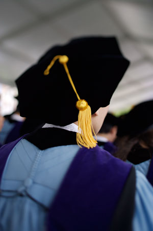 Purple Graduation Gown And Cap The cap and gown rental cost
